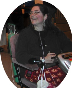 Sharon at Maine Reading