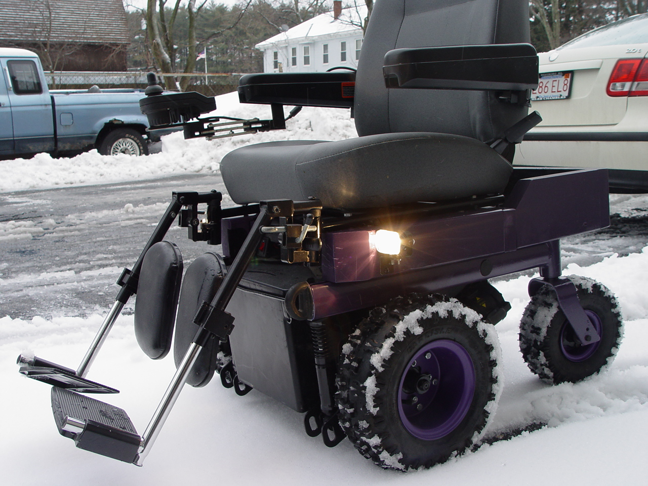 Outdoor powerchair after gadget for How to motorize a wheelchair