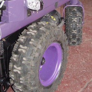 Big, Knobby Tires