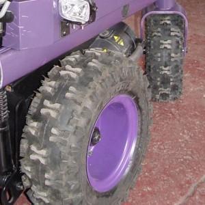 Big, Knobby Tires